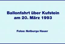 Ballonfahrt über Kufstein 1993 (Bilder des Monats-Mai 2021)