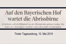 BAYERISCHER HOF – KLEMM (Bilder des Monats-März 2019)