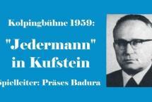 "KOLPINGBÜHNE 1959 – ""Jedermann"" (Bilder des Monats-März 2017)"