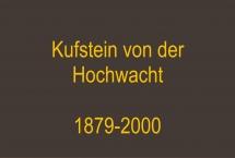 Kufstein von der Hochwacht 1879-2000  (Bilder des Monats-April 2019)