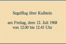 Segelflug über Kufstein 1968 (Bilder des Monats-März 2021)