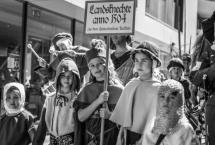 UMZUG RITTERFEST - GRUPPE DES HEIMATVEREINS (Bilder des Monats-August 2014)