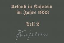Urlaub in Kufstein 1933 - Teil 2 (Bilder des Monats - Oktober 2020)